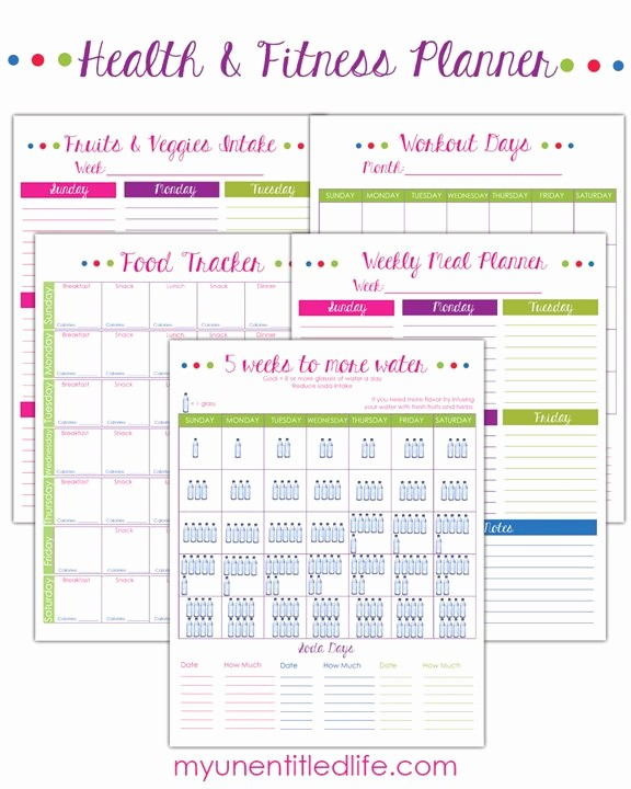 Free Printable Weight Loss Tracker Awesome Weight Loss Trackers and Fitness Printables