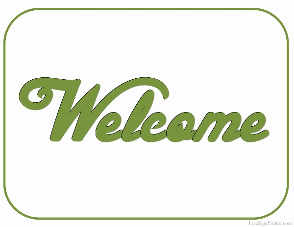 Free Printable Welcome Home Signs Best Of Printable Wel E Sign