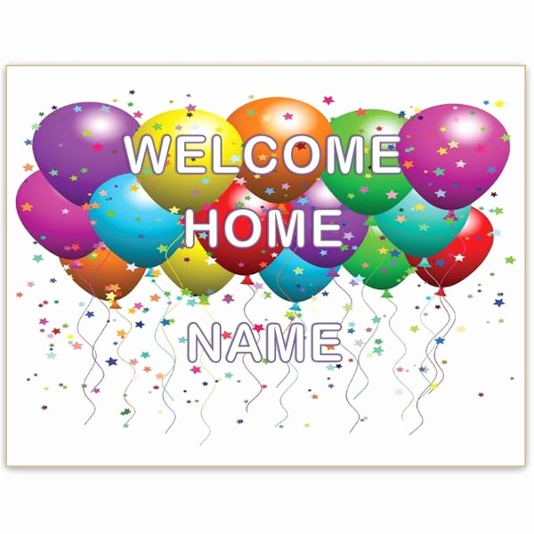 Free Printable Welcome Home Signs Elegant New House New Baby A Wel E Home Sign Template for Word