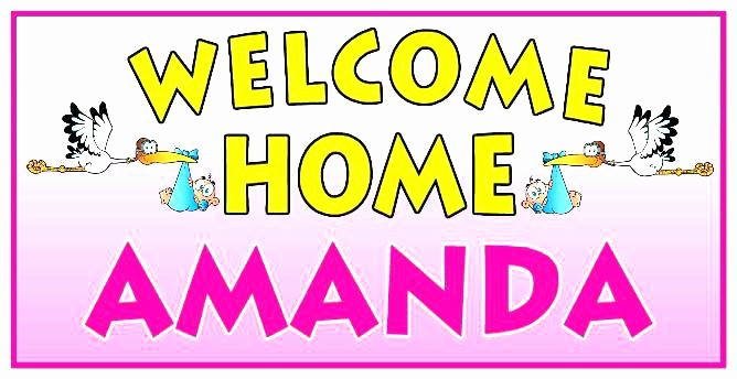 Free Printable Welcome Home Signs Inspirational Free Printable Banner Letters Templates Wel E Home