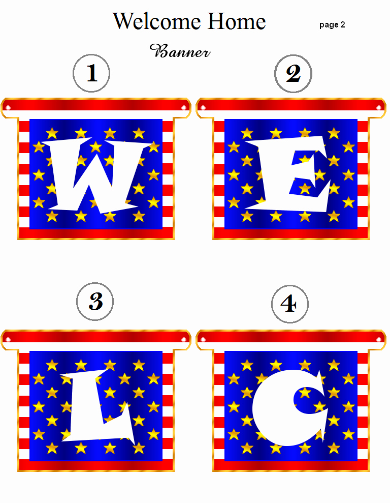 Free Printable Welcome Home Signs Lovely 6 Best Of Wel E Home Banners Printable Free