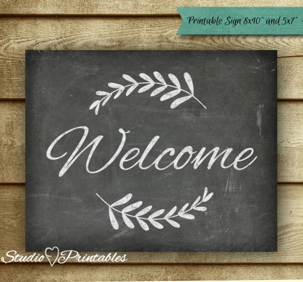 Free Printable Welcome Home Signs Lovely Printable Chalkboard Wel E Sign Chalkboard Art Print