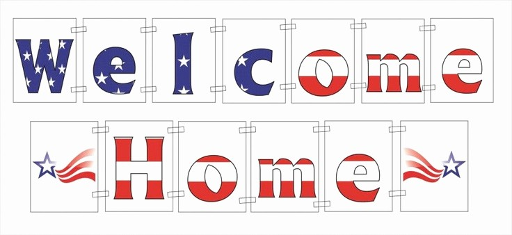 Free Printable Welcome Home Signs New Free Printable Wel E Home Banner Printable 360 Degree