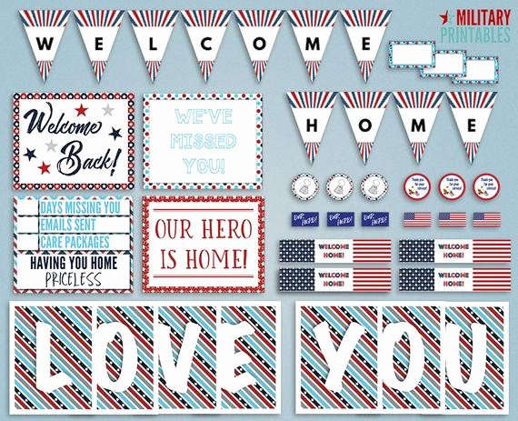 Free Printable Welcome Home Signs New Military Home Ing Printable Wel E Home Military