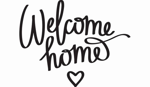 Free Printable Welcome Home Signs New Wel E Home Printable Quote Picture Pic Frame Wall Art