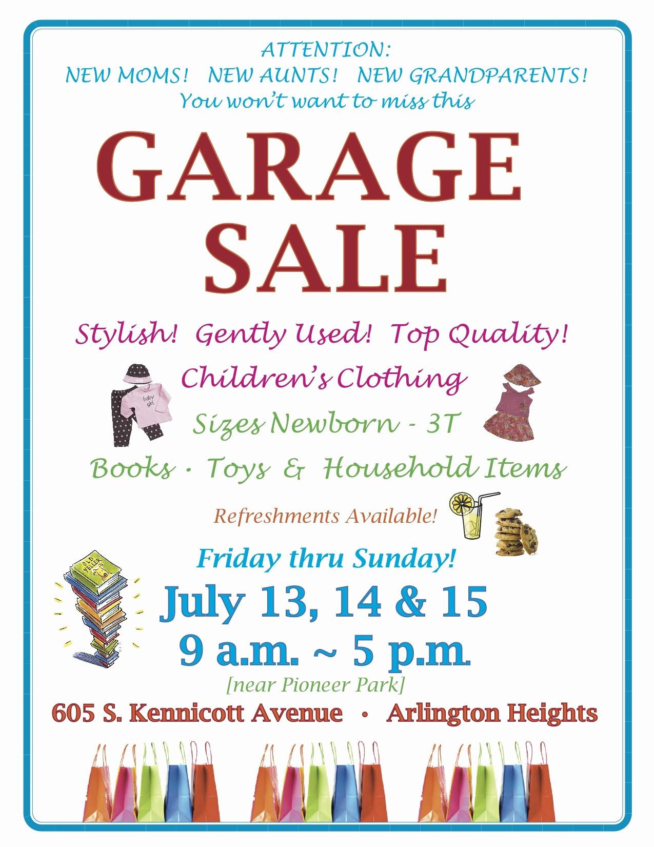 Free Printable Yard Sale Flyers Beautiful 13 Best S Of Garage Sale Printable Templates Free