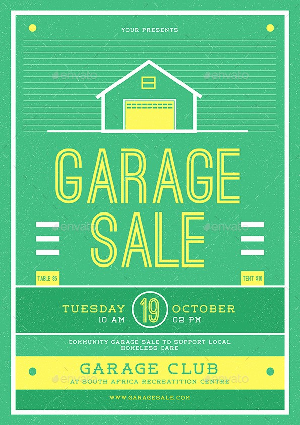 Free Printable Yard Sale Flyers Beautiful Garage Sale Flyer by Guuver
