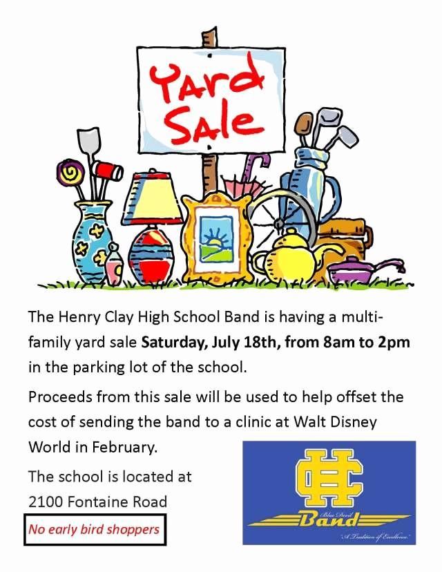 Free Printable Yard Sale Flyers Beautiful Yard Sale Flyers Free Download 20 High School Diploma
