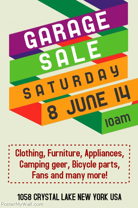 Free Printable Yard Sale Flyers Best Of Customize 590 Garage Sale Flyer Templates