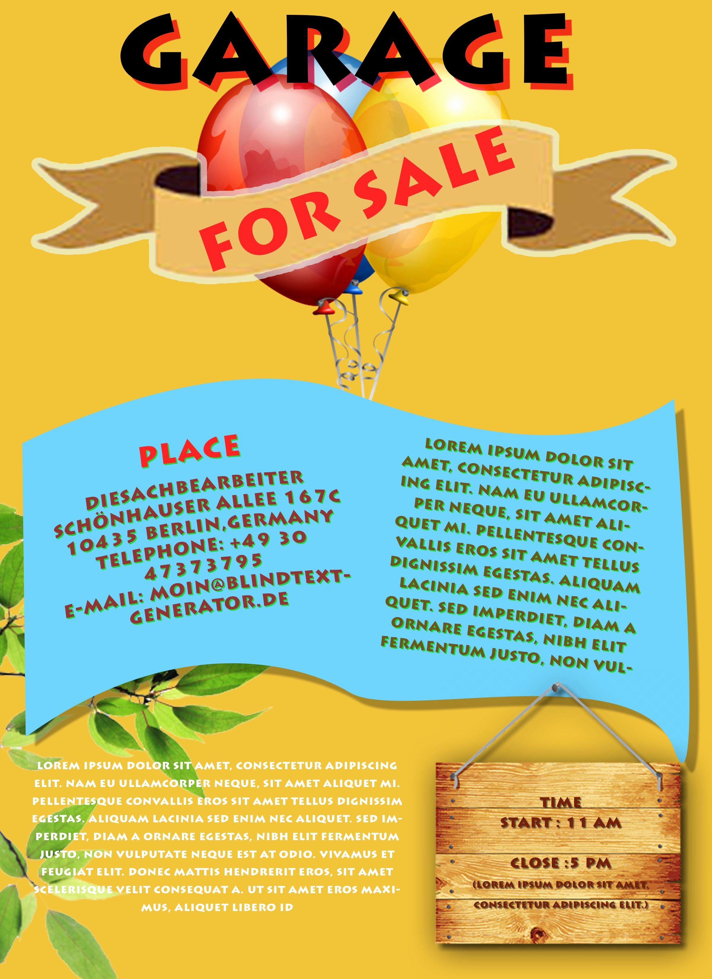 Free Printable Yard Sale Flyers Best Of Free Printable Garage Sale Flyers Templates attract More