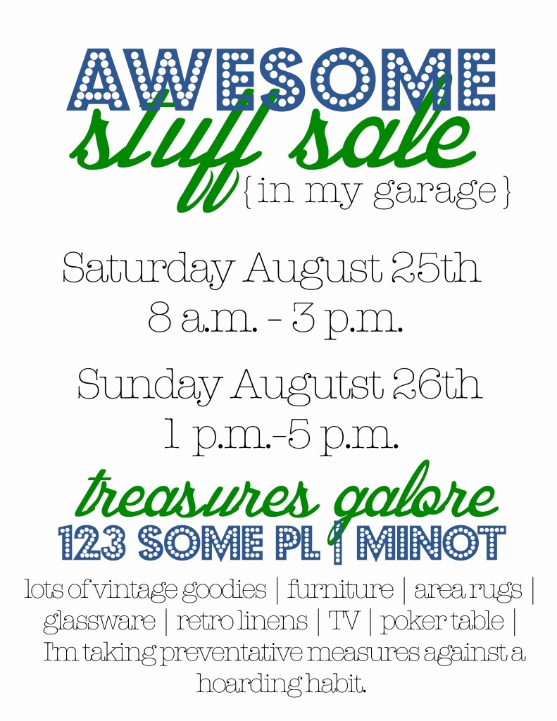 Free Printable Yard Sale Flyers Best Of Garage Sale Tips & Flyers and How to Make A Big Image