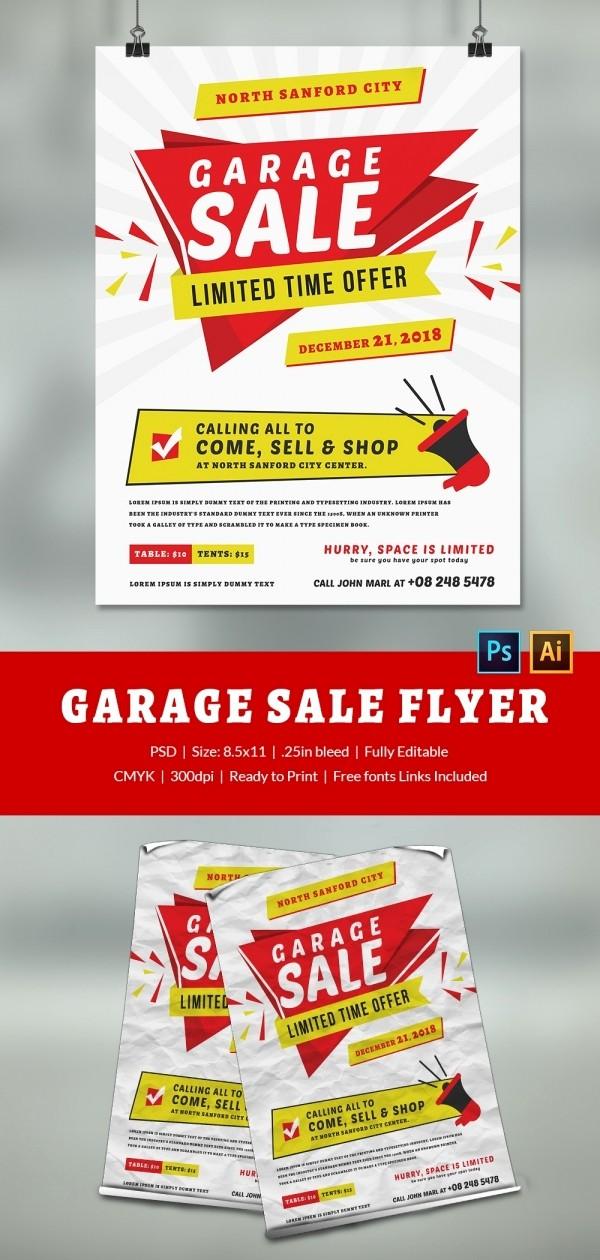 Free Printable Yard Sale Flyers Inspirational 14 Best Yard Sale Flyer Templates & Psd Designs