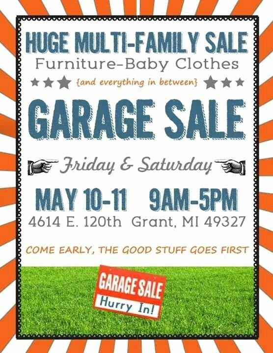 Free Printable Yard Sale Flyers Inspirational A Yard Sale Sign Yard Sale