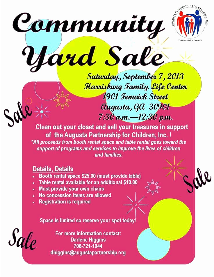 Free Printable Yard Sale Flyers Lovely Yard Sales Flyers Yard Sale Flyers Funny Munity Yard