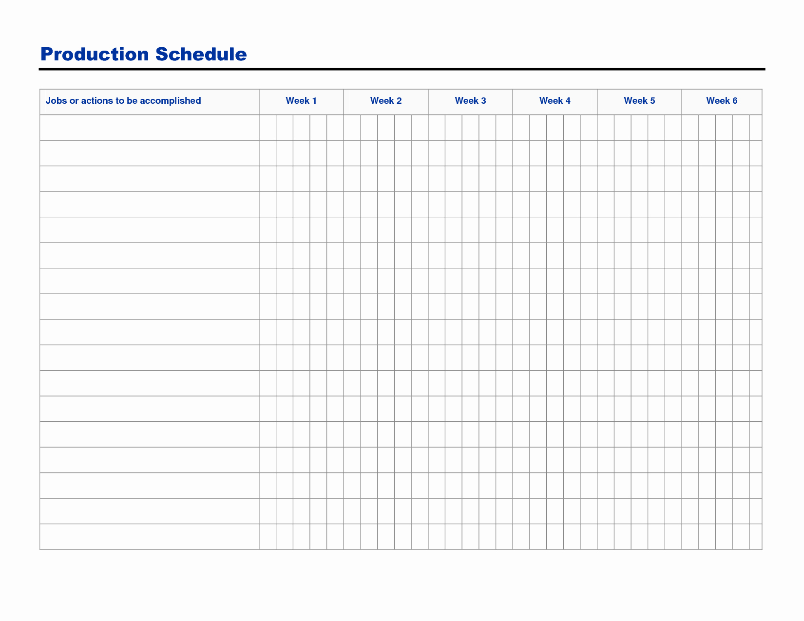 Free Production Scheduling Excel Template Best Of Free Printable Production Schedule Template and Sheet
