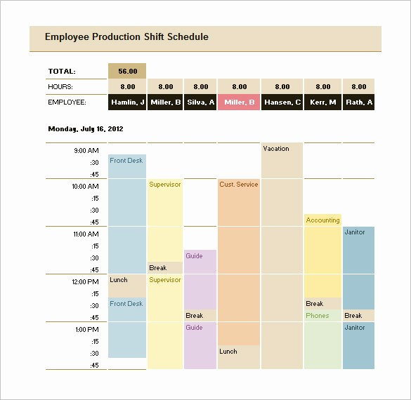 Free Production Scheduling Excel Template Luxury 29 Production Scheduling Templates Pdf Doc Excel