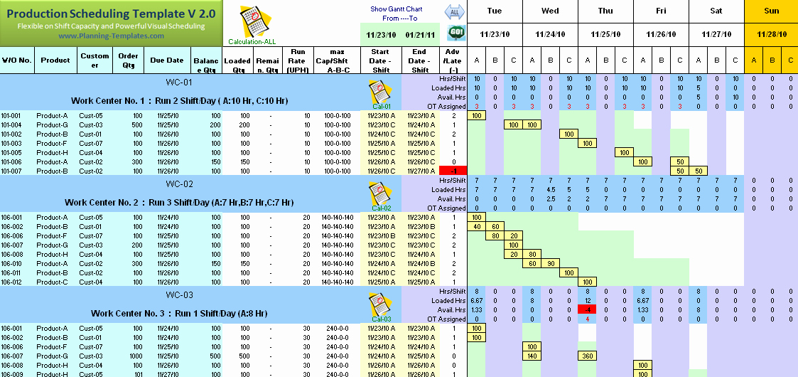 Free Production Scheduling Excel Template Luxury Production Schedule Template Excel