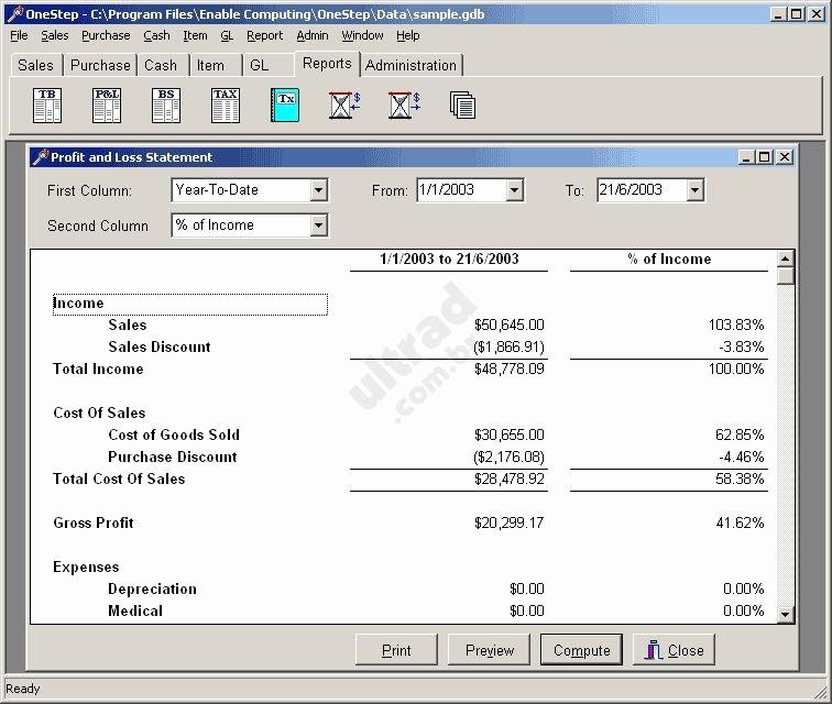 Free Profit and Loss software Beautiful Free Freeware Profit Loss Programs Blogsassistant