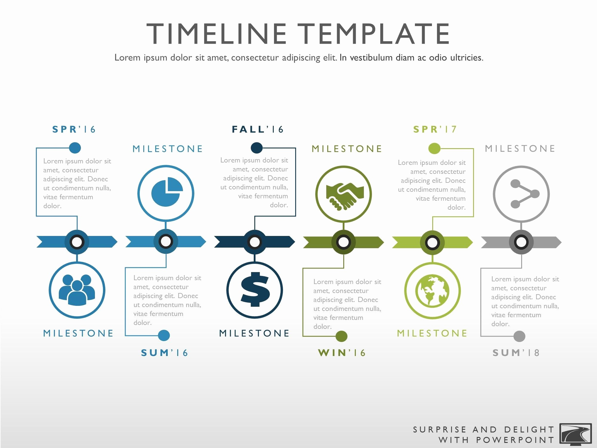 Free Project Management Timeline Template Awesome Timeline Template for Powerpoint Great Project Management