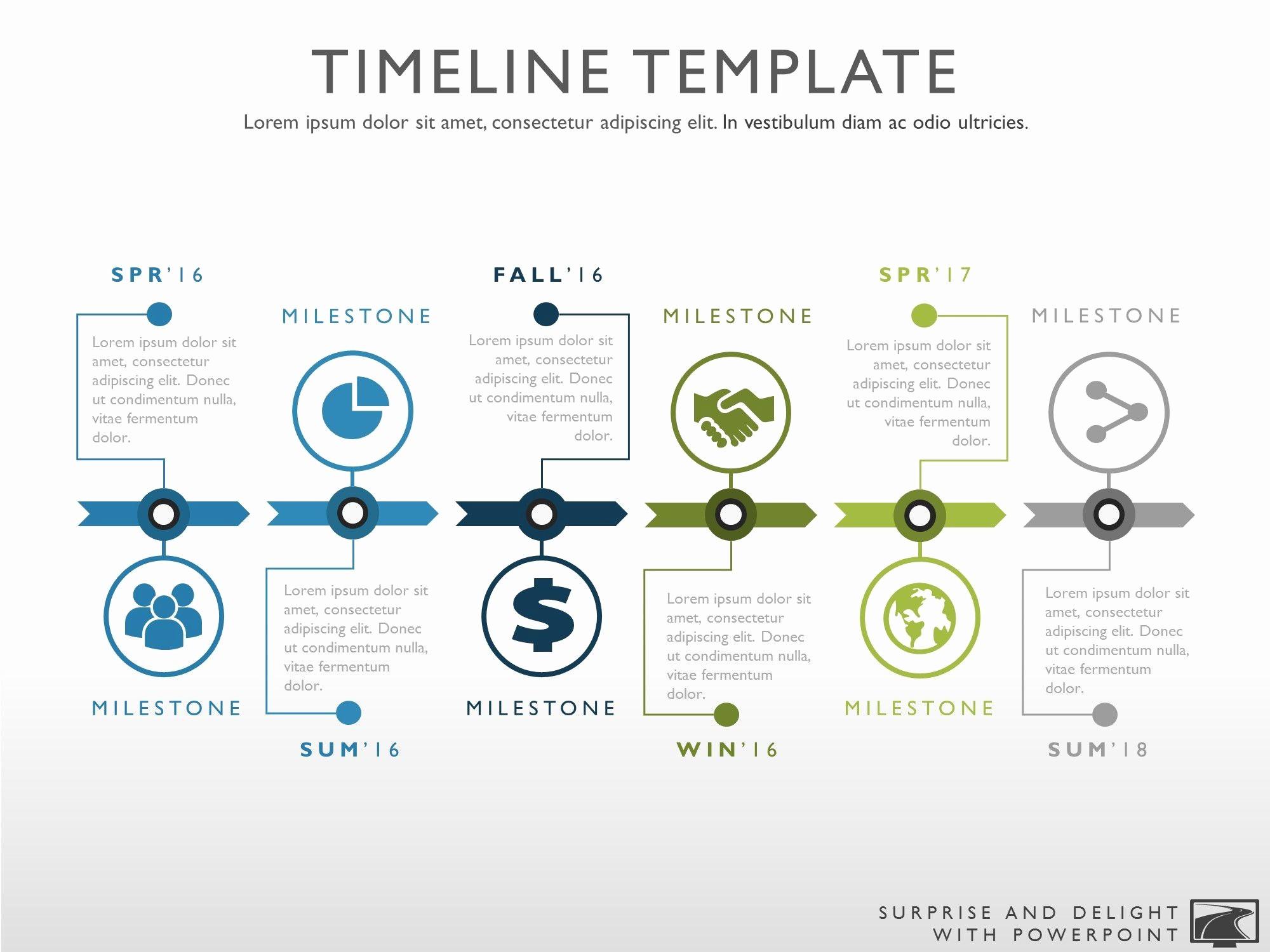 Free Project Management Timeline Template Awesome Timeline Template for Powerpoint Great Project Management
