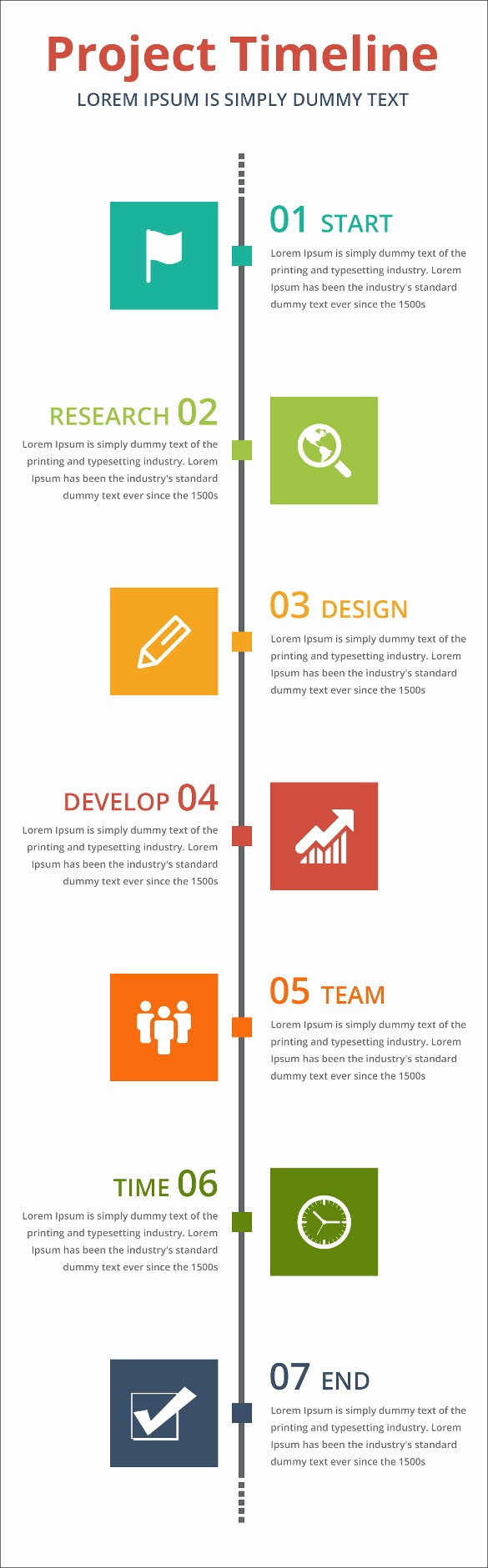Free Project Management Timeline Template Elegant Project Timeline Templates 19 Free Word Ppt format