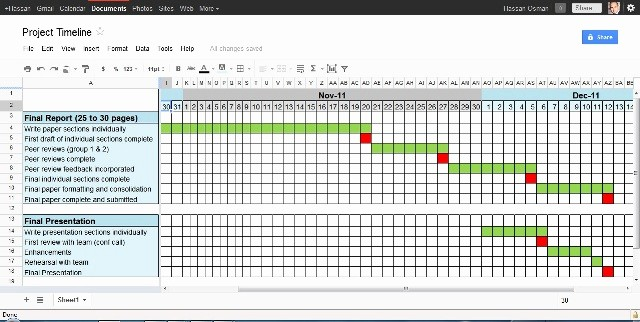 Free Project Management Timeline Template Fresh 4 Project Timeline Excel Templates Excel Xlts