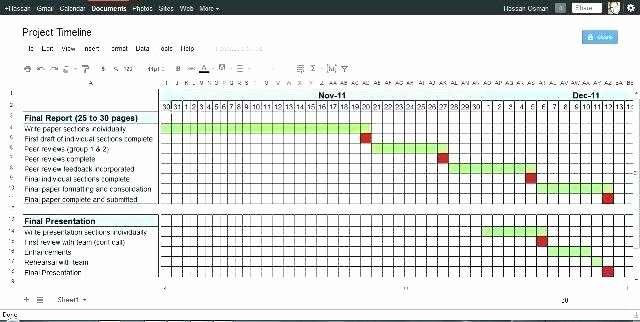 Free Project Management Timeline Template Fresh Project Management Timeline Template Excel How to Create A