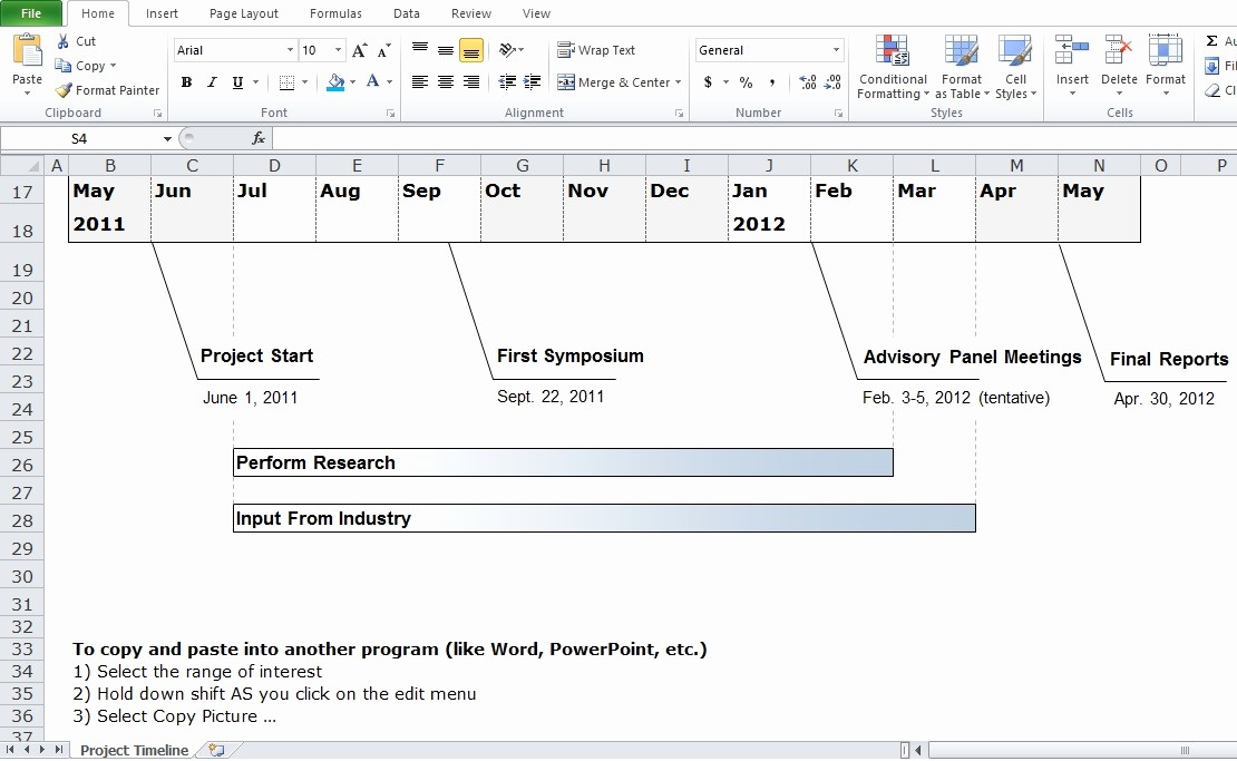 Free Project Management Timeline Template New Free Project Management Timeline Template Excel Tmp