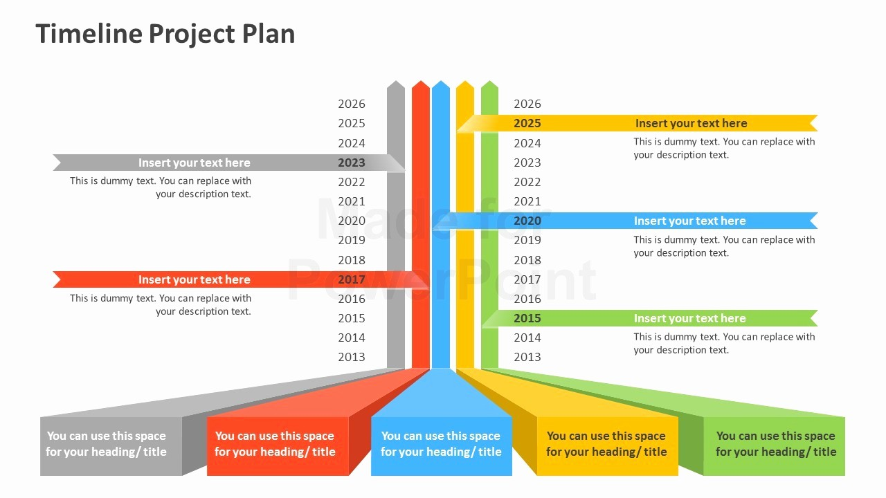 Free Project Management Timeline Template Unique Timeline Project Plan Powerpoint Template