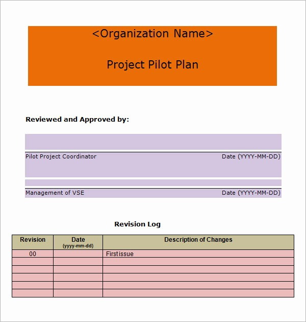Free Project Plan Template Word Best Of 19 Useful Sample Project Plan Templates to Downlaod