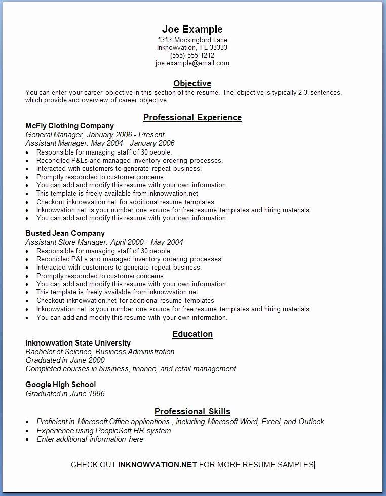 Free Resume Cover Letter Samples Lovely Free Resume Samples Line