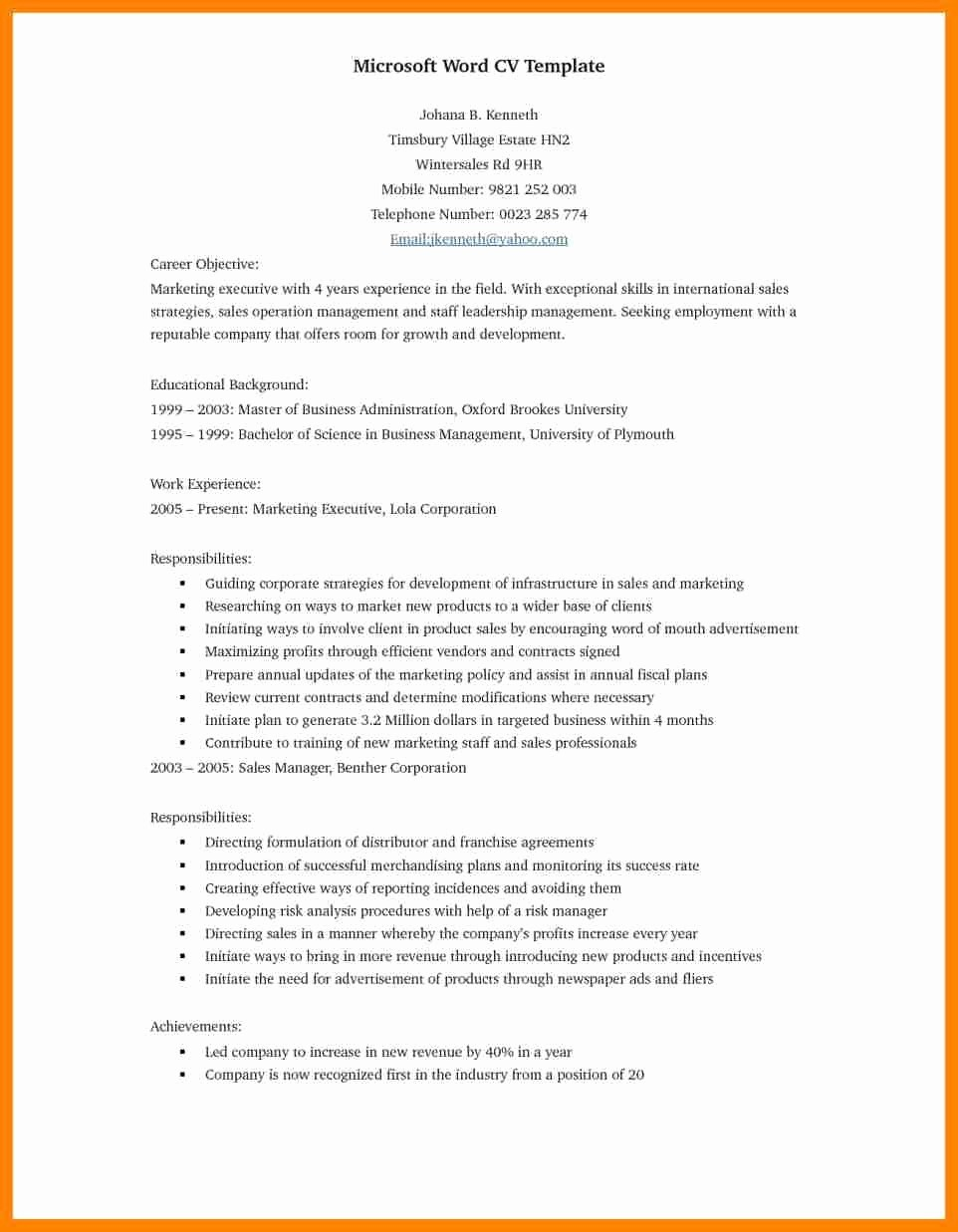 Free Resume Templates 2017 Word Awesome Resume Template Microsoft Word 2017