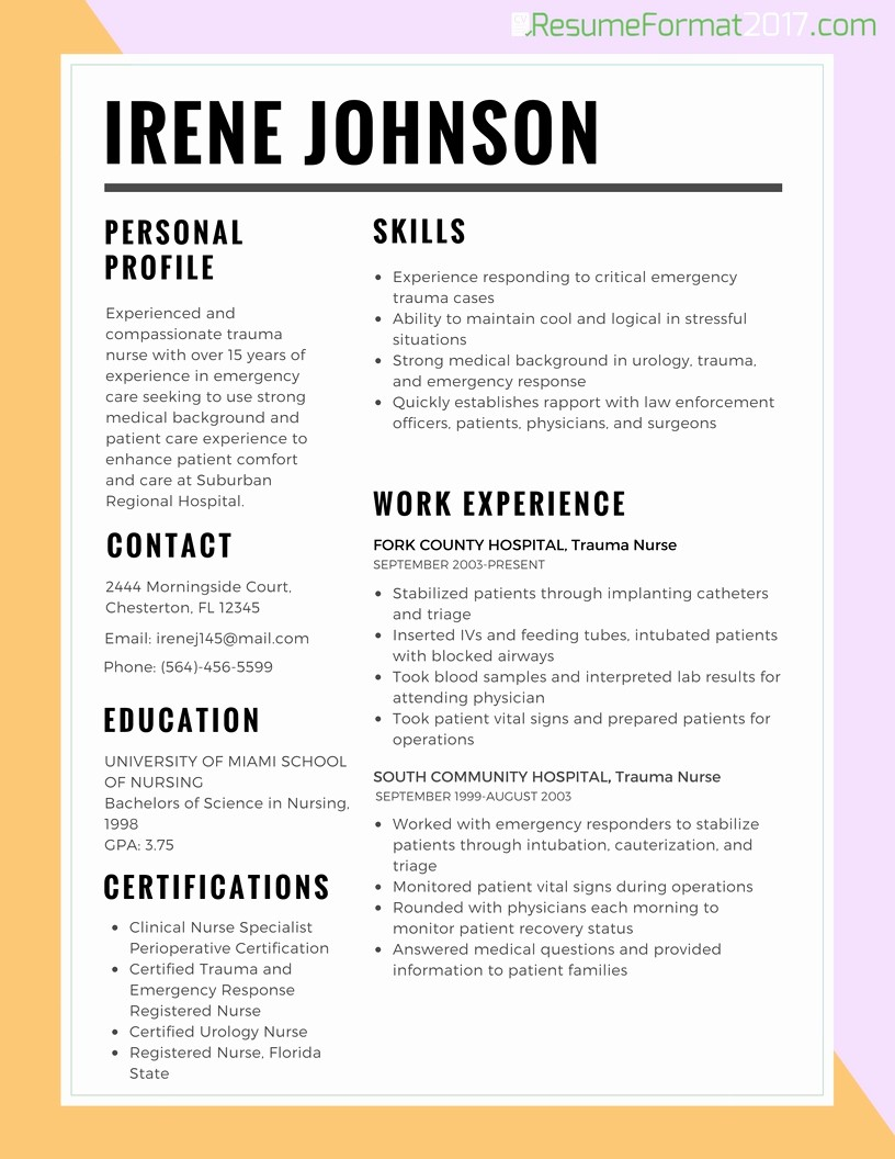 Free Resume Templates 2017 Word Unique Job Resume Template 2017