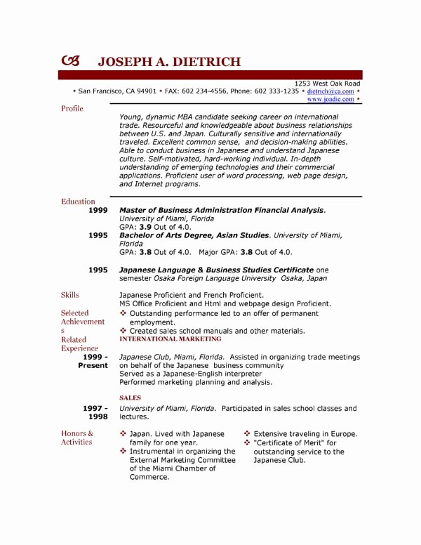 Free Resume Templates and Downloads Lovely 85 Free Resume Templates