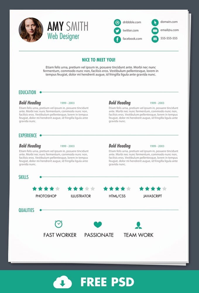 Free Resume Templates and Downloads Unique 6 Free Resume Templates Word Excel Pdf Templates