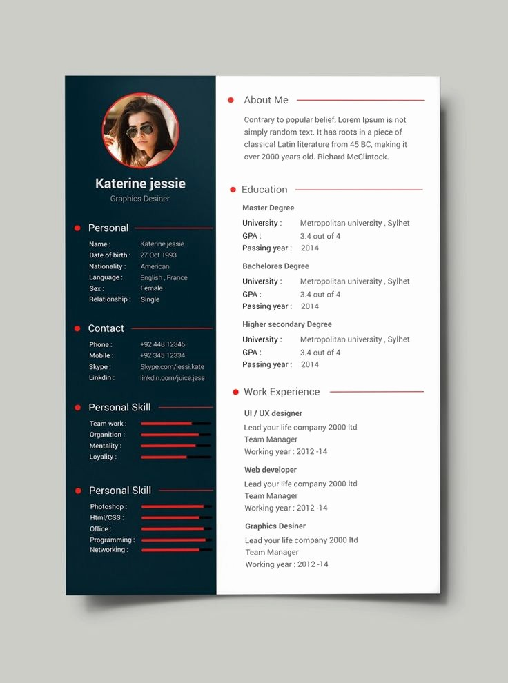 Free Resume Templates Download Pdf Awesome Best 20 Cv Template Student Ideas On Pinterest