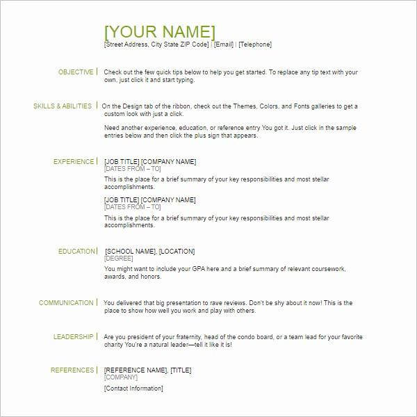 Free Resume Templates Download Pdf Elegant 118 Resume Templates Free Word Excel Pdf formats