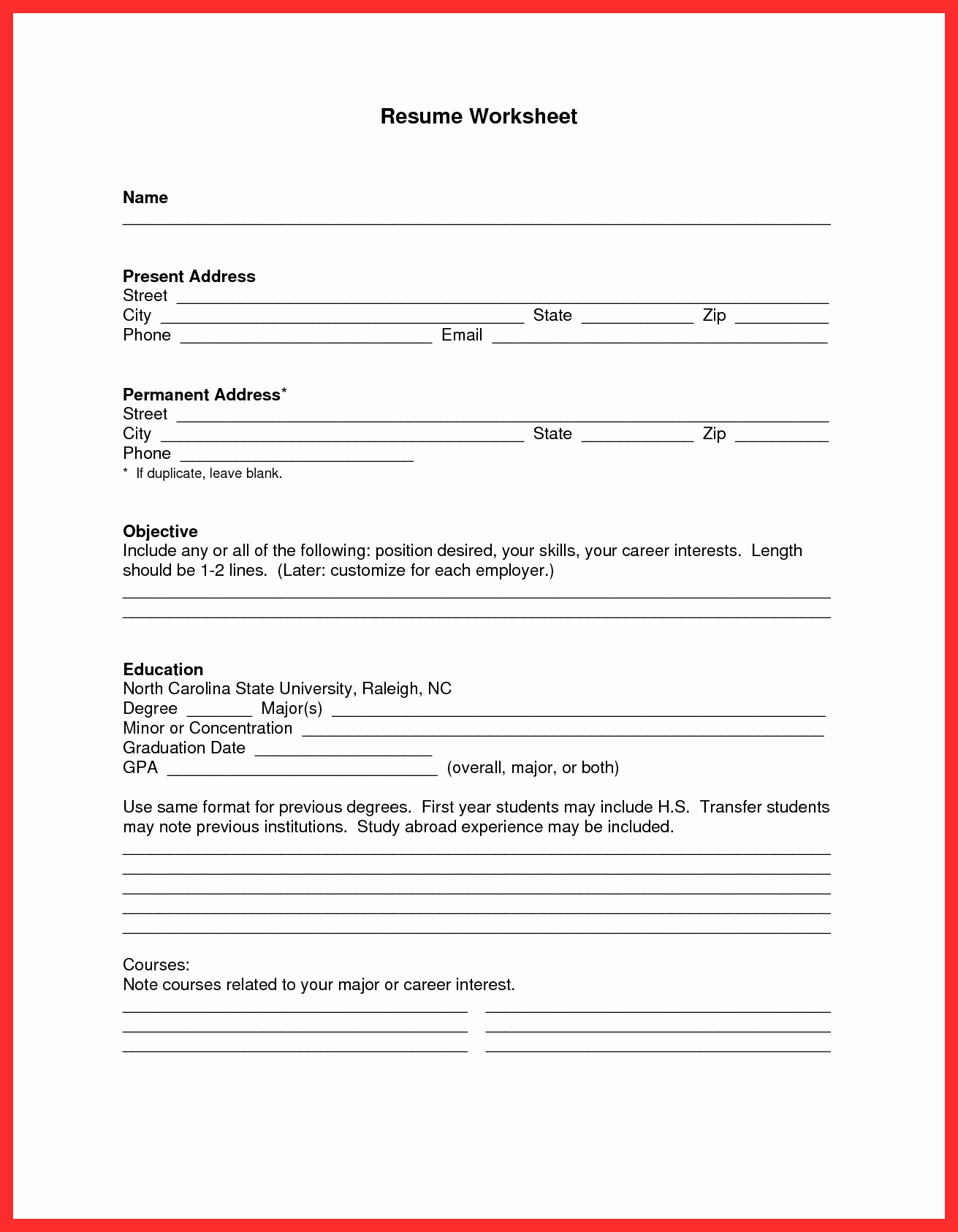 Free Resume Templates Download Pdf Lovely Apa Resume Template