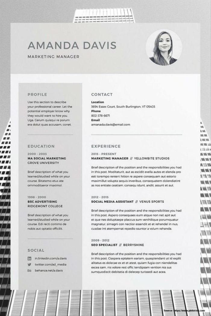 Free Resume Templates Download Word Elegant Free Resume Templates Word 2017 Resume Resume Examples