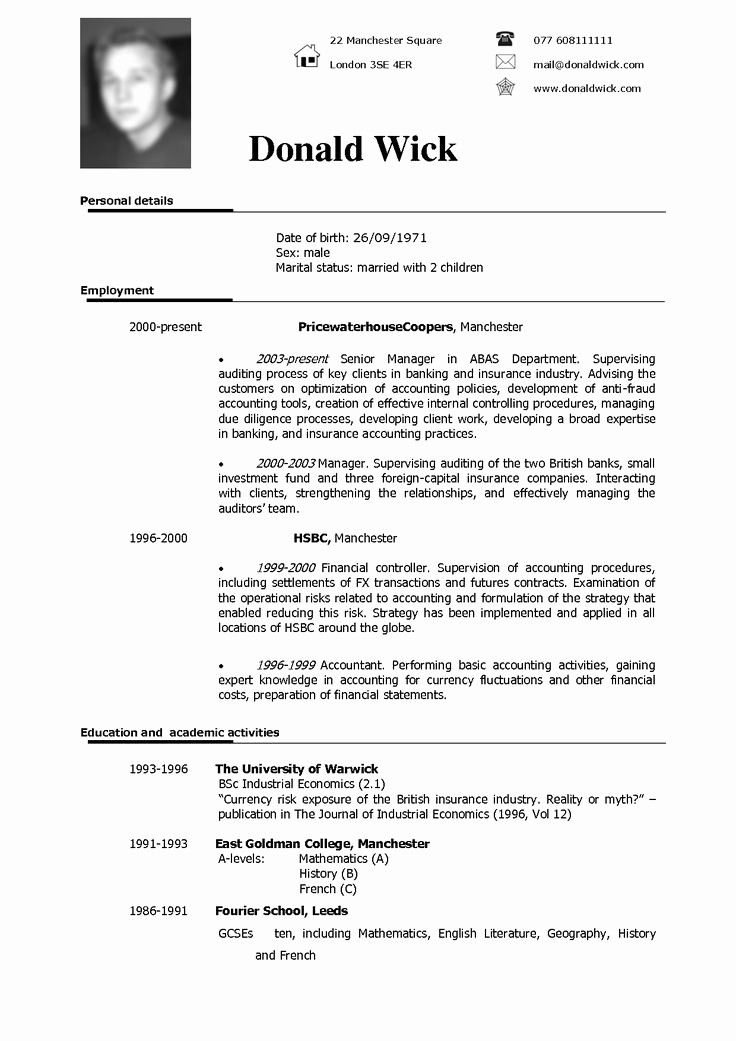 Free Resume Templates In English Best Of Best 25 English Cv Template Ideas On Pinterest
