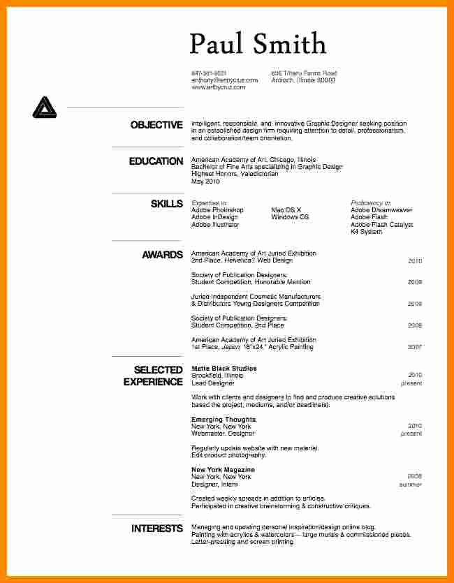Free Resume Templates In English New 8 Cv In English Examples Free