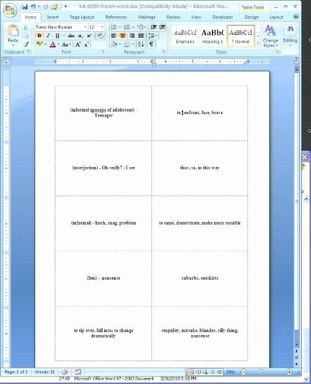 Free Rolodex Template Microsoft Word Elegant Flash Card Template for Mac Free – Spitznasfo
