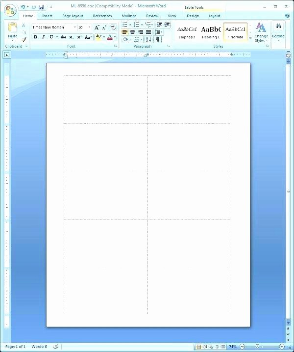Free Rolodex Template Microsoft Word Unique Template 8371 – Ecosolidario