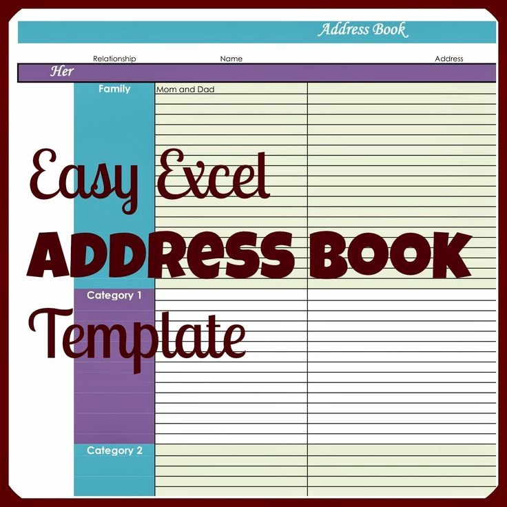 Free Rolodex Template Microsoft Word Unique why Would You Ever Need An Address Book In Excel when
