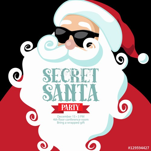 Free Secret Santa Flyer Templates Fresh Secret Santa Invitation Template – orderecigsjuicefo