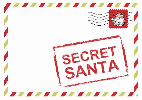 Free Secret Santa Flyer Templates Lovely Christmas – the Weinblog