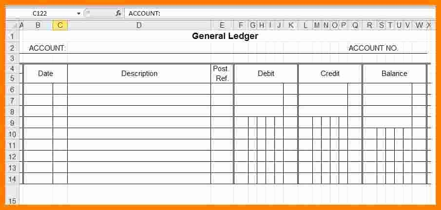 Free Small Business Ledger Template Best Of 11 Business Ledger Templates