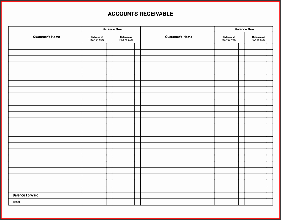 Free Small Business Ledger Template Best Of 8 Bookkeeping General Ledger Template Sampletemplatess