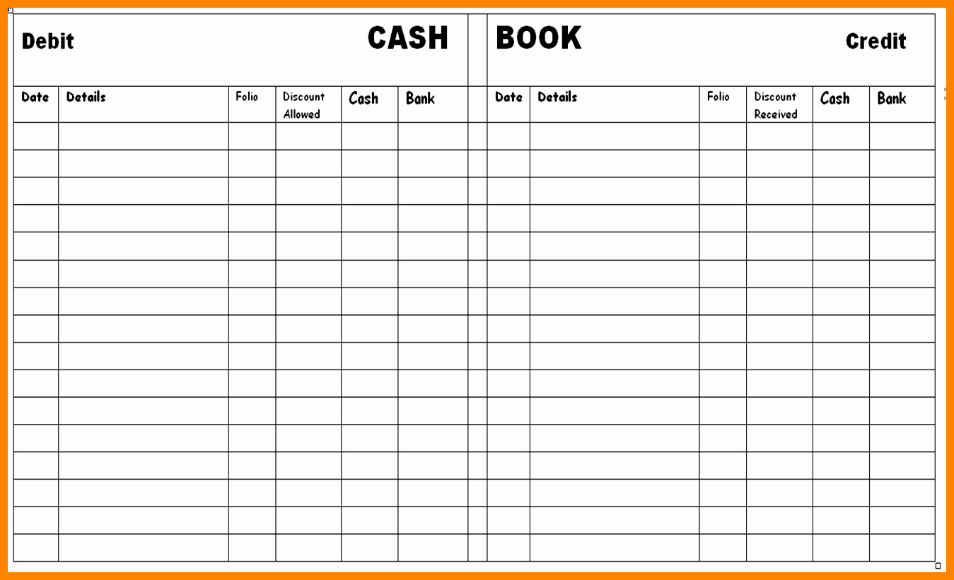 Free Small Business Ledger Template Luxury 8 Free Printable Accounting Ledger