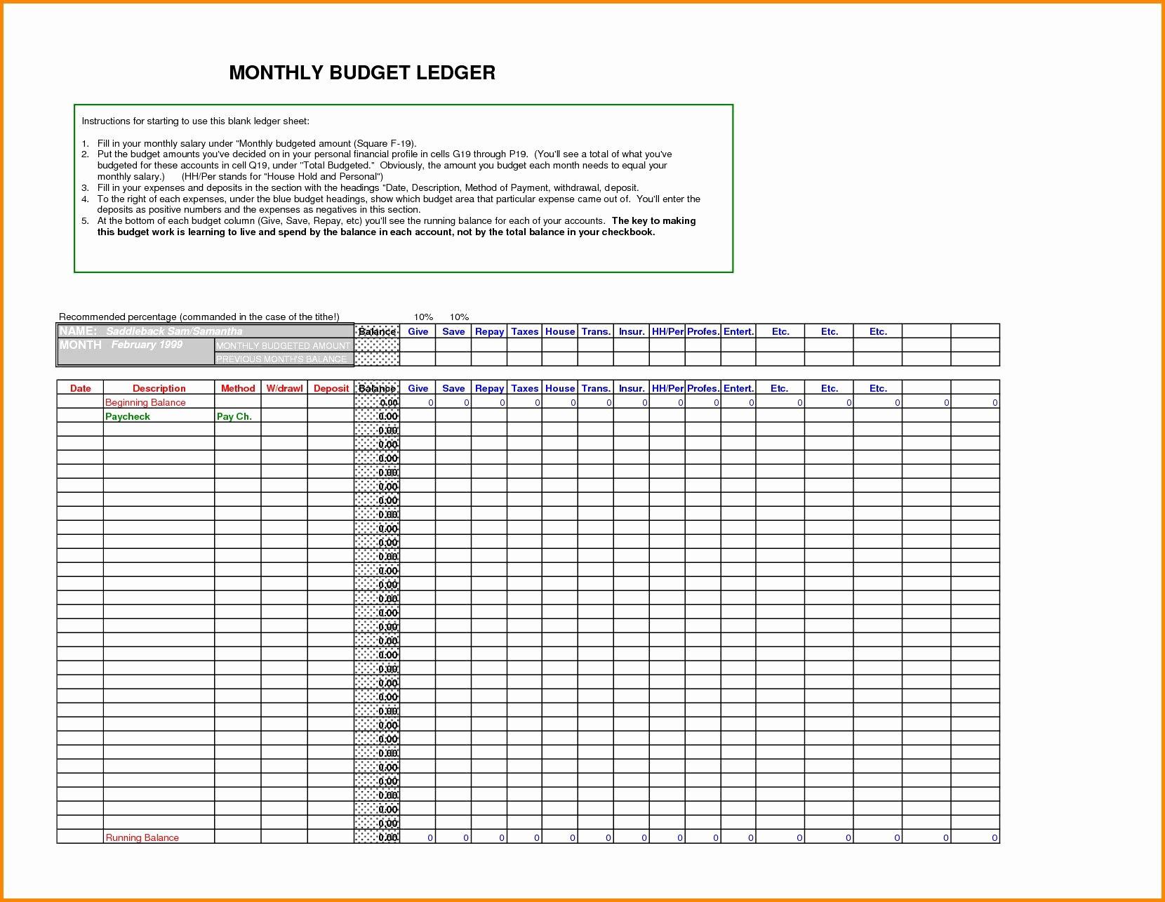 Free Small Business Ledger Template Unique General Ledger Template Excel Glendale Munity